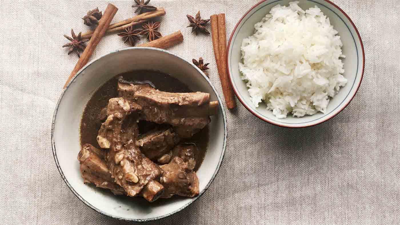 Star anise in Malaysia cuisine
