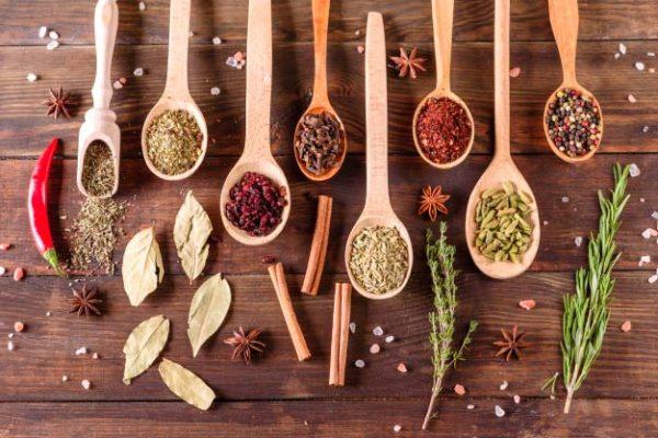 Ingredients in India Cuisine
