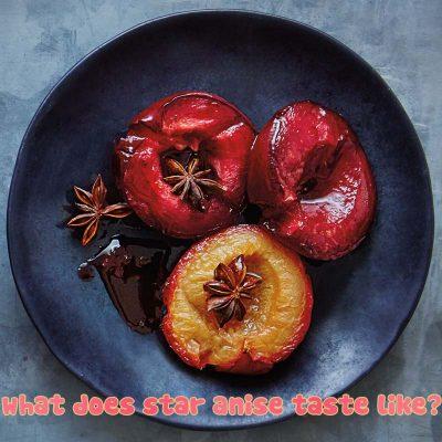what does star anise taste like